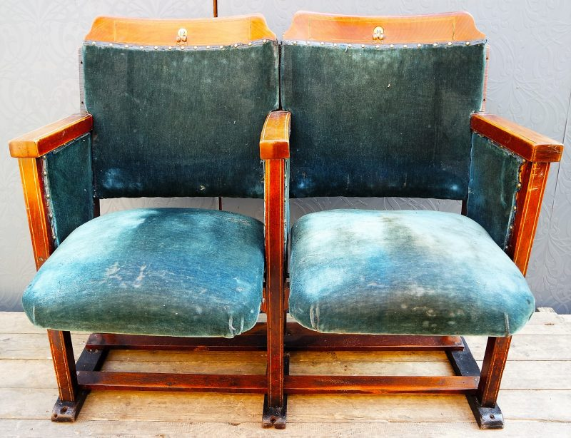 Vintage furniture - cinema seating