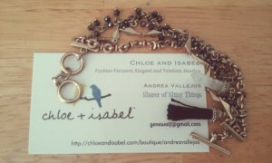 home based - Chloe and Isabel jewelry