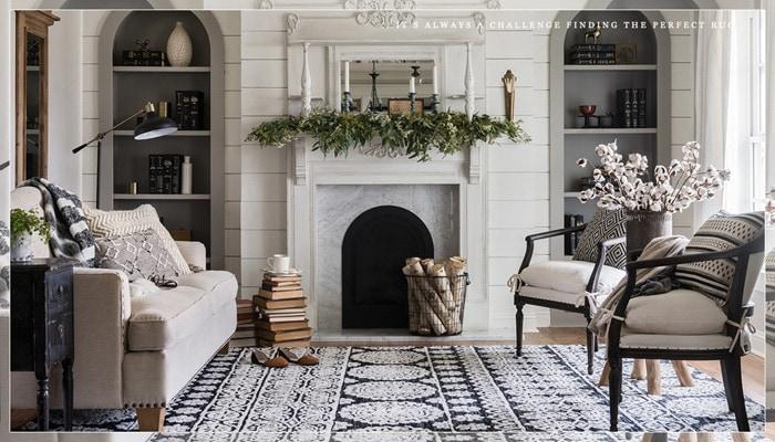 Purple And Black Bedroom Wallpaper 5 Favorite Fixer Upper Rugs The Harper House