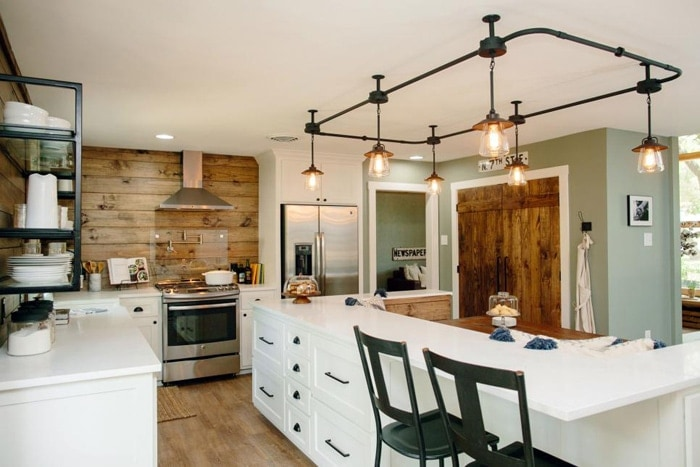 Where to buy the kitchen lights featured on fixer upper season 4