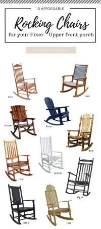 10 Awesome Porch Rocking Chairs | The Harper House