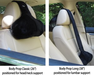 Body Prop Classic and Long shown in car