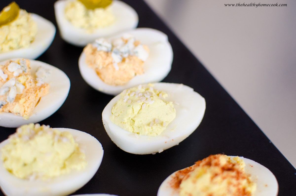 Deviled Eggs Four Ways – The Healthy Home Cook