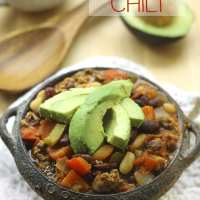 One-Pot Beef and 3-Bean Chili