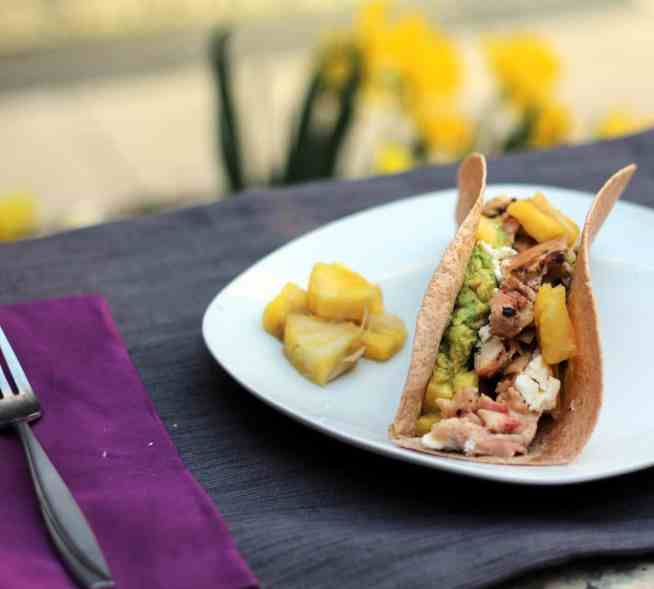 Mojito Chicken Tacos   The Healthy Toast