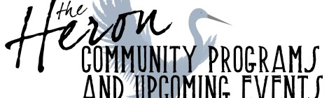 Community Programs & Upcoming Events