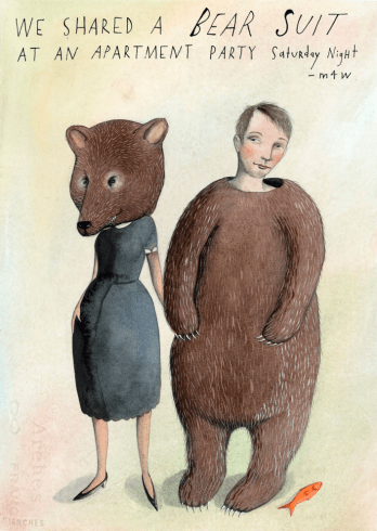 Sophie Blackall we shared a bear suit
