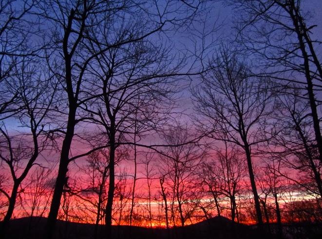 Sunrise on the Appalachian Trail, 2012