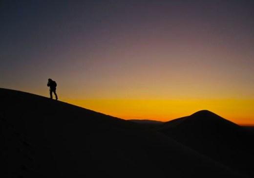 Sunset in the Gobi Desert   Mongolia, 2009
