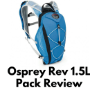 Osprey Rev 1.5L Pack Review