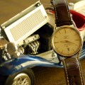 The Longines Flagship with my Alfa Romeo 1931 Spider diecast car.