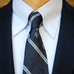 Ivy League style with my old school tie.