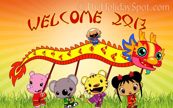 Event Type Childrens Program. 1920 x 1200.Chinese New Year Cards Print