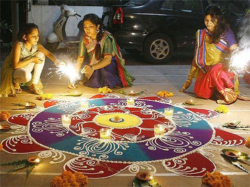 Animated Diwali Diya Wallpapers Diwali Celebrations Around India