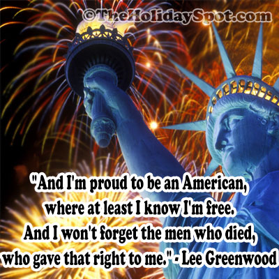Poems on 4th July, American Independence Day