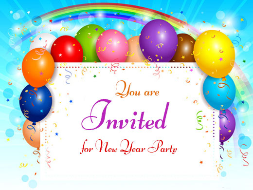 New Year Parties and Party Ideas