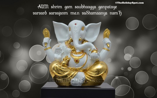 Vinayaka Chavithi Hd Wallpapers Blessings Of Lord Ganesha Wallpapers From Theholidayspot