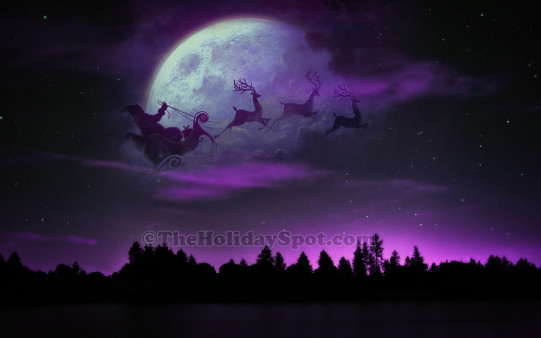 3d Ganesh Wallpapers Free Download For Pc Santa With Sleigh And Reindeer Wallpapers From