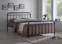 Metal Bed Frame By Time Living | Miami Bed Black