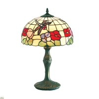 Beige Tiffany Table Lamp  The Home Furniture Store