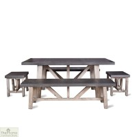Small Bench Dining Set | The Home Furniture Store
