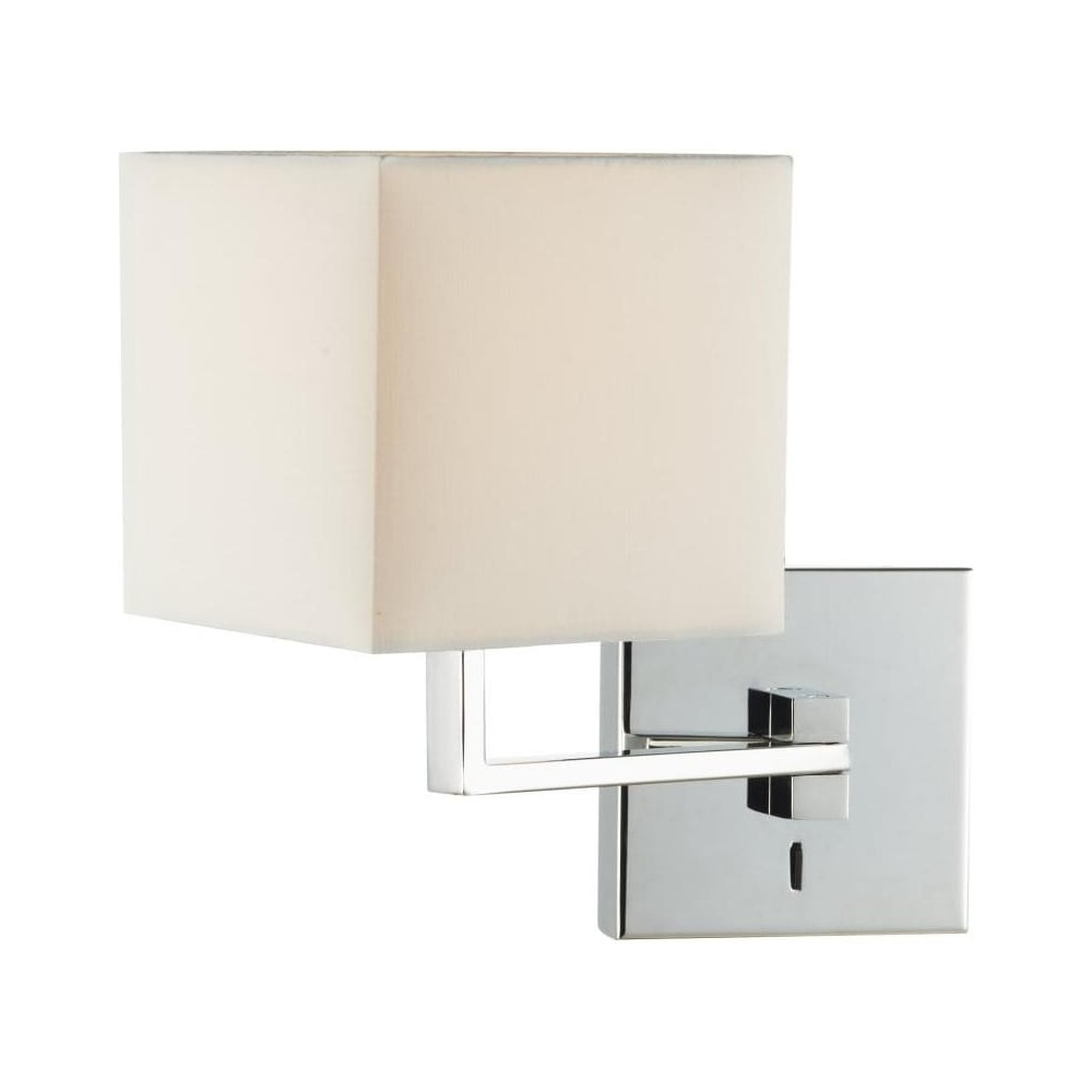 Anvil wall light with shade anv0750s s1106