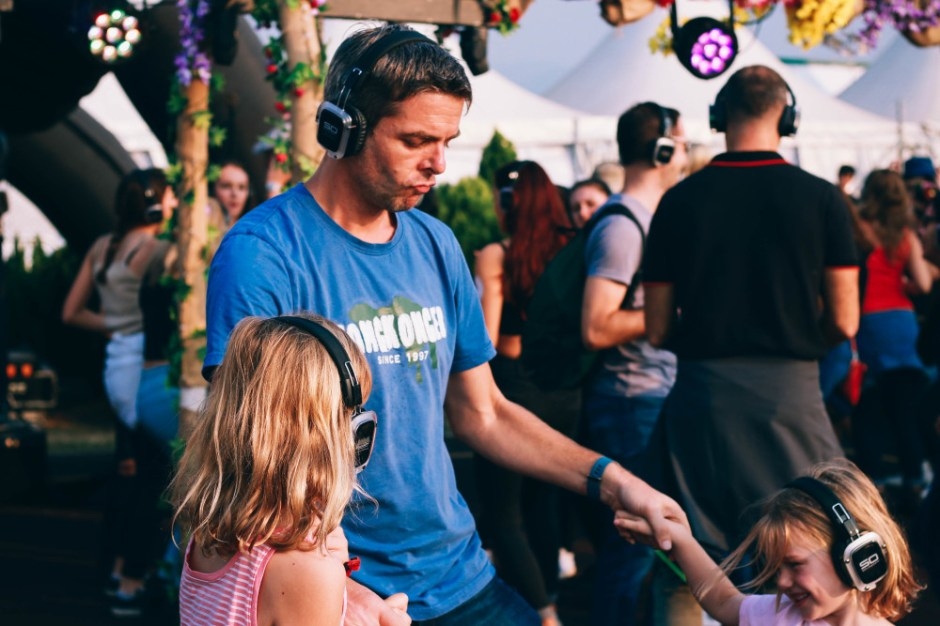 Silent Disco with Dad