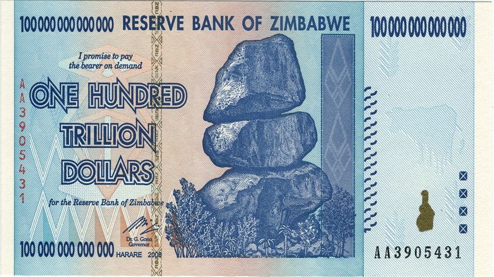 Zimbabwe's INSANE hyperinflation and conversion to the U.S. dollar ...