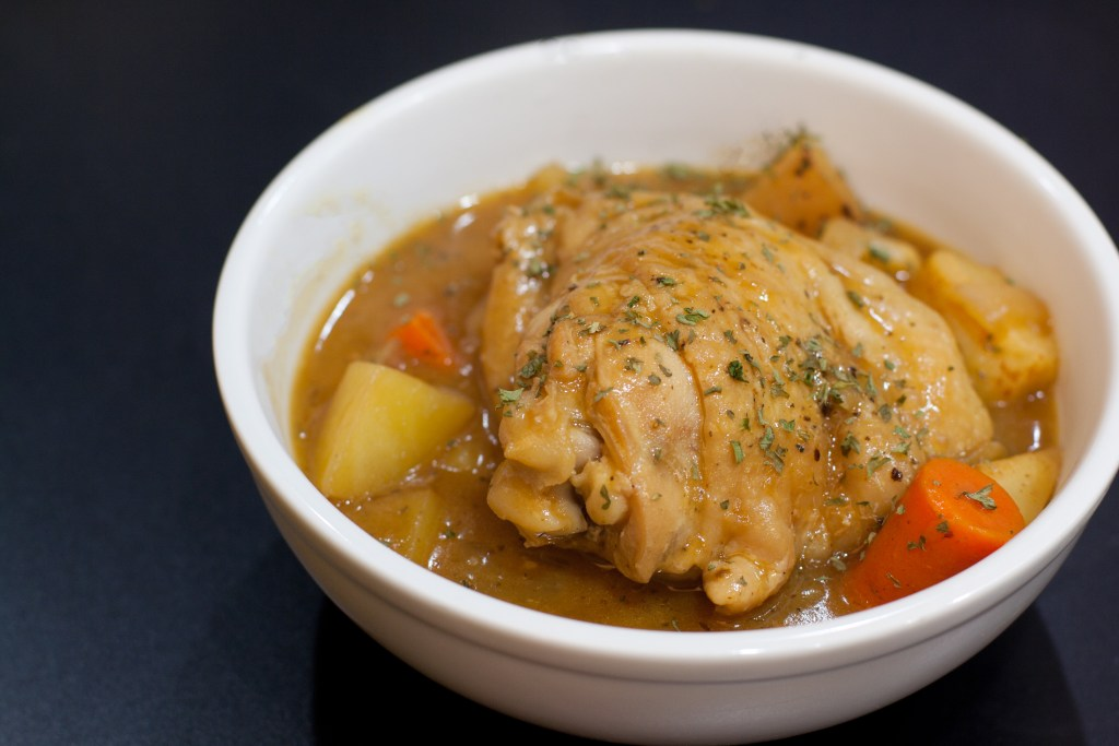 porter braised chicken
