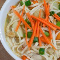 Massaman Curry Chicken Noodle Soup