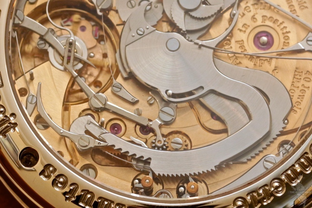 FP Journe Sonnerie Souveraine movement details