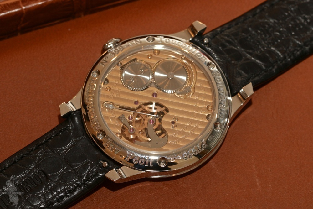 FP Journe Tourbillon Souverain movement