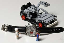 "RJ Romain Jerome DeLorean DNA x LEGO ""Back to the Future"""