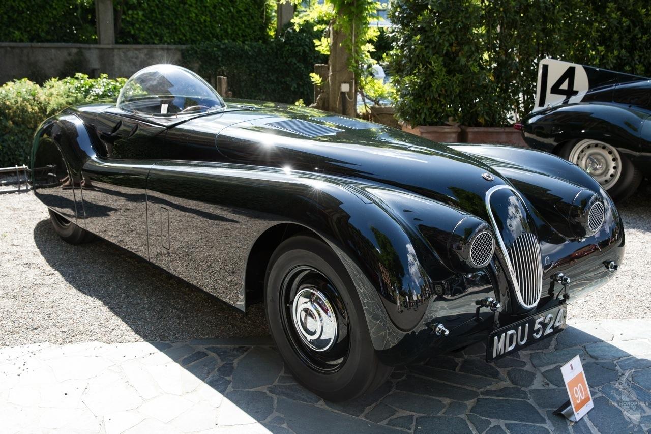 Jaguar XK120 Concorso d'Eleganza Villa d'Este 2014