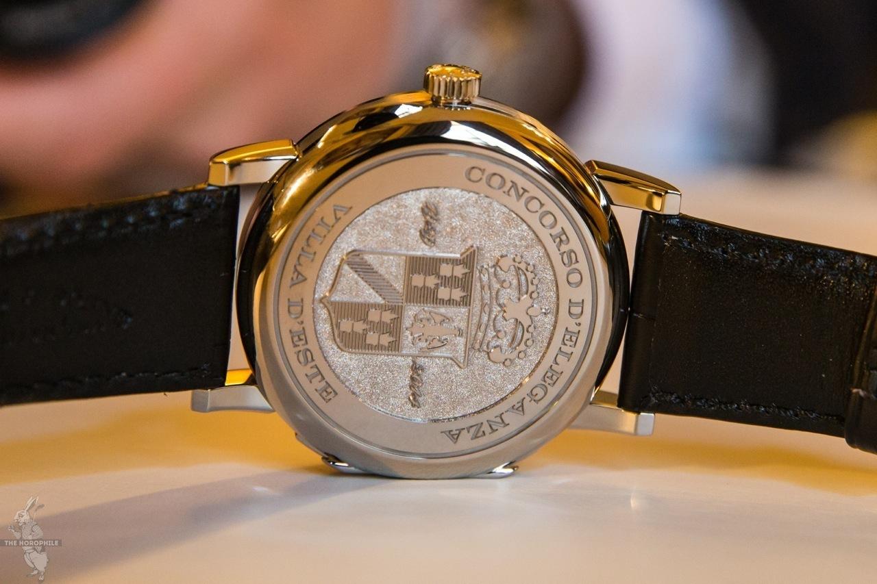 A. Lange & Söhne Langw 1 Timezone Como Concorso d'Eleganza Villa d'Este 2014 16