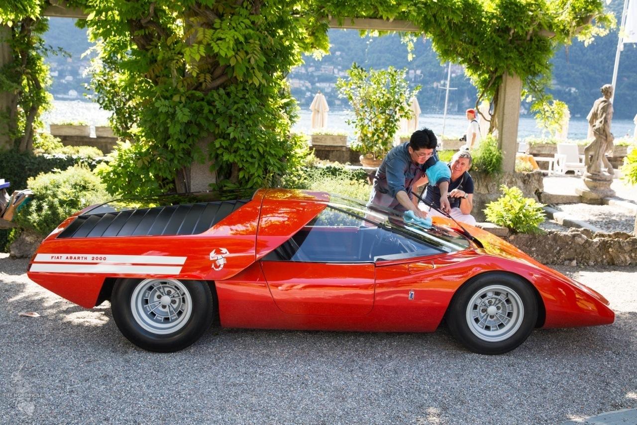 Concorso d'Eleganza Villa d'Este 2014 FIAT Abarth 2000 Scorpione