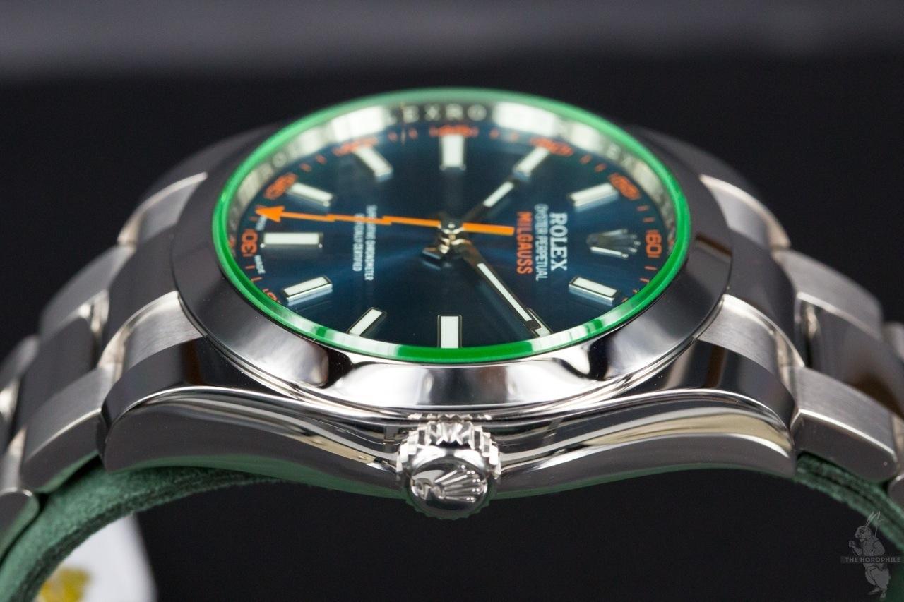 Rolex Milgauss Blue 116400GV 1