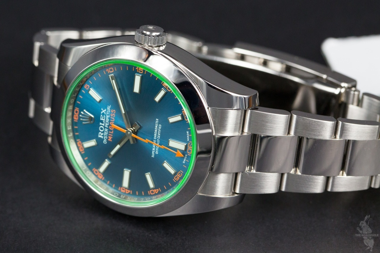 Rolex Milgauss Blue 116400GV 3