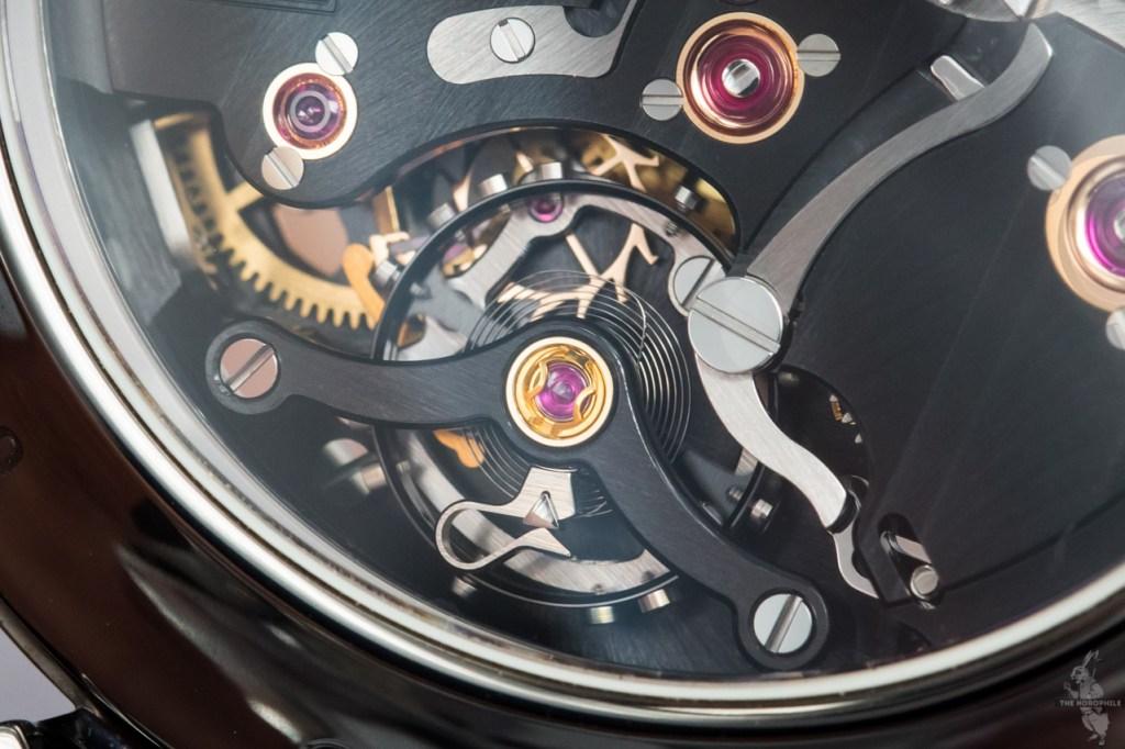 H. Moser & Cie Endeavour Perpetual Calendar Black Edition-escapement