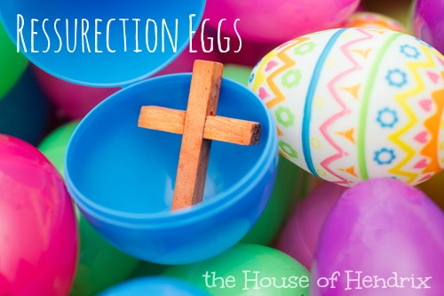 Ressurection Eggs- 12 plastic eggs filled with 12 symbols of Easter
