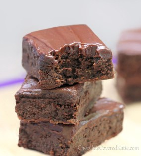 Healthy Chocolate Zuchini Brownies