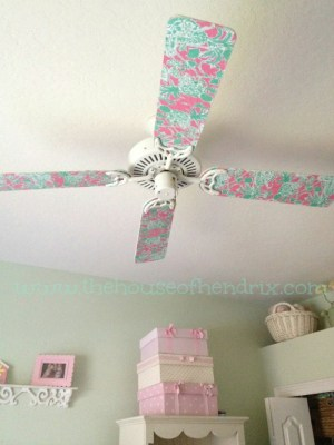 Paddle Fan Makeover in under 60 minutes- Such a simple upgrade {the House of Hendrix}