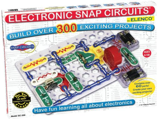 Electronic Snap Circuits. Teach kids how to create electricity