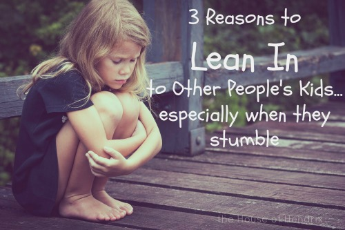 Often we pull away from the trouble maker kids when what we really need to be doing is the opposite. Here is why and how to lean in.