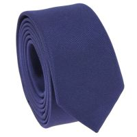 Navy Blue Narrow Tie - Skinny Tie - Slim Tie - The House ...