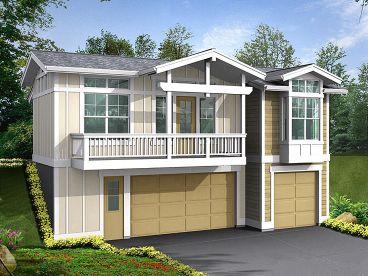 Garage Apartment Plans Three Car Garage Apartment Plan