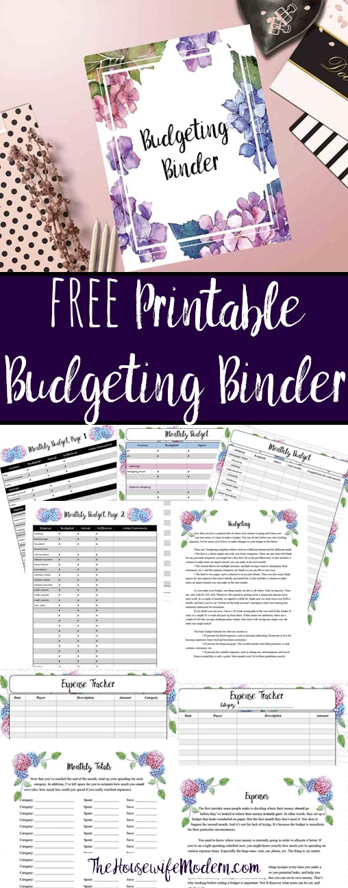 Free Printable Budgeting Binder 15+ Pages! - budget trackers