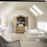 Attic-bathroom-design-idea