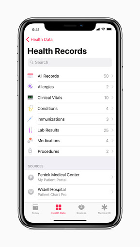 Apple\u0027s new Health Records App helps users maintain medical history