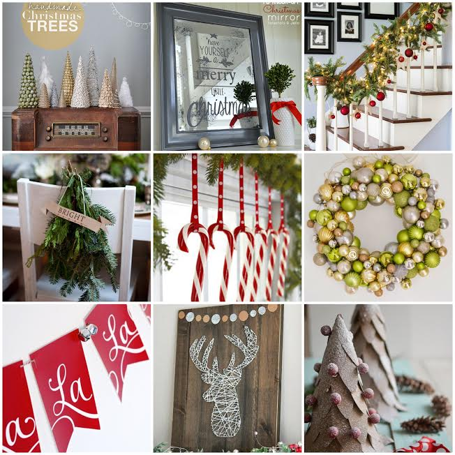 Here are some inspiring diy christmas decorations for you as always